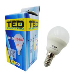 Bec LED 7W E14 230V 2700K