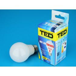 Bec LED E27 230V 7W 2700K