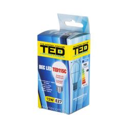 Bec LED E27 230V 15W 2700K