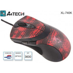 MOUSE LASER GAMING USB...
