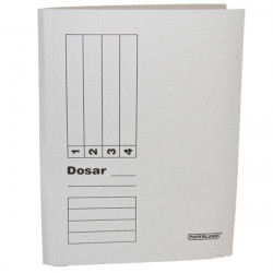 Dosar simplu carton alb A4